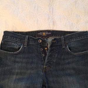 Lucky brand mens blue jeans 32x32 221